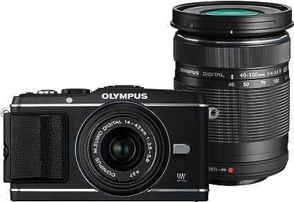 Olympus Pen E P3 Systemkamera 3 Zoll Schwarz Kit Inkl Kamera