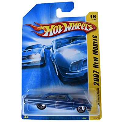 Hot Wheels 2007 New Models 18/36 1964 Ford Galaxie 500XL 18/180, Blue: Toys & Games