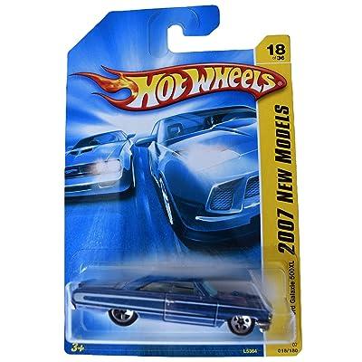 Hot Wheels 2007 New Models 18/36 1964 Ford Galaxie 500XL 18/180, Blue: Toys & Games [5Bkhe0300179]