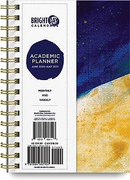 Une Academic Calendar 2021 Amazon.: 2020 2021 Academic Planner  Yearly Monthly Weekly