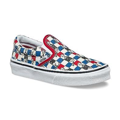 Vans Kids X Marvel Classic Slip,On Skate Shoe