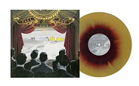 Fall Out Boy From Under The Cork Tree Limited Edition Maroon And Gold Swirl Colored Vinyl Amazon Com Music