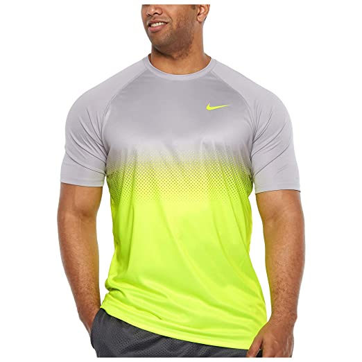 a7704268 Amazon.com: Nike Men's Big and Tall Dri-Fit Swim Fade Mist Hydroguard T- Shirt, UPF 40+: Sports & Outdoors
