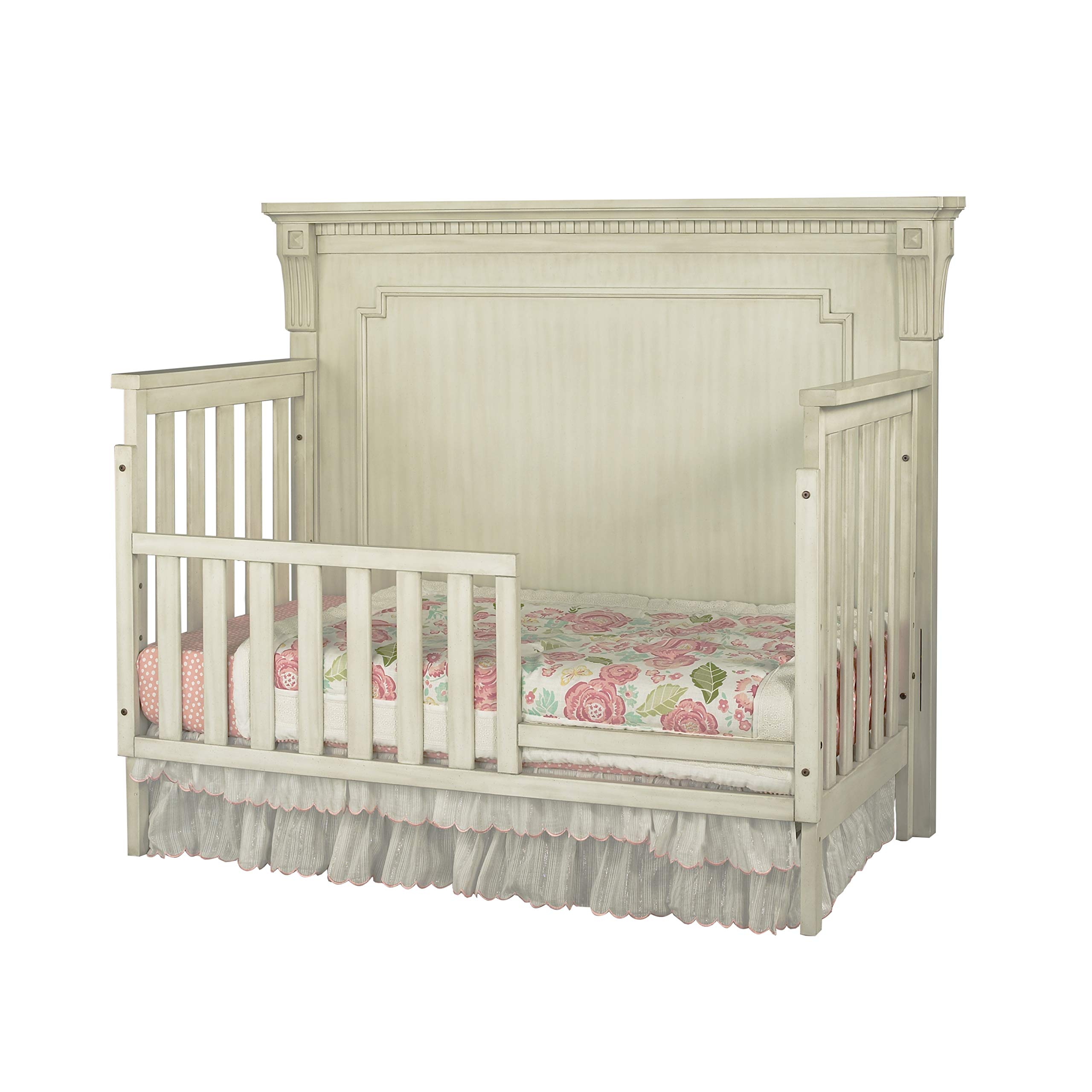 Oxford Baby Mid Century Claremont Guard Rail, Antique White by Oxford Baby (Image #4)