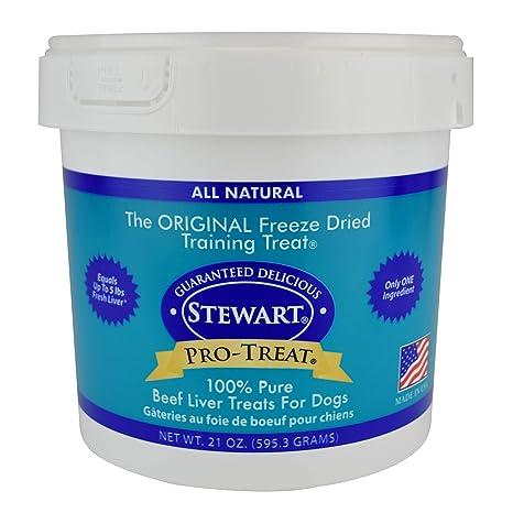 Amazon.com : Stewart Freeze Dried Treats 21 oz. Beef Liver : Pet Snack Treats : Pet Supplies