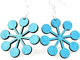 product image for Snowflake Circles Earrings