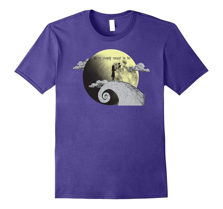 Disney Nightmare Before Christmas Silhouette T Shirt-FL - Sunflowershirt