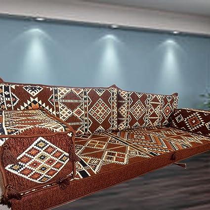 Oriente Medio Tribal muebles suelo Majlis, árabe, Árabe Jalsa, suelo ...