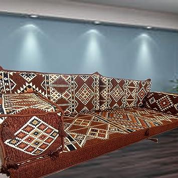 Middle East Tribal Floor Seating Furniture Arabic Majlis Arabic