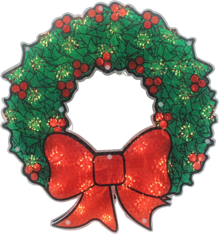 Amazon Northlight Christmas Window Decorations Lighted