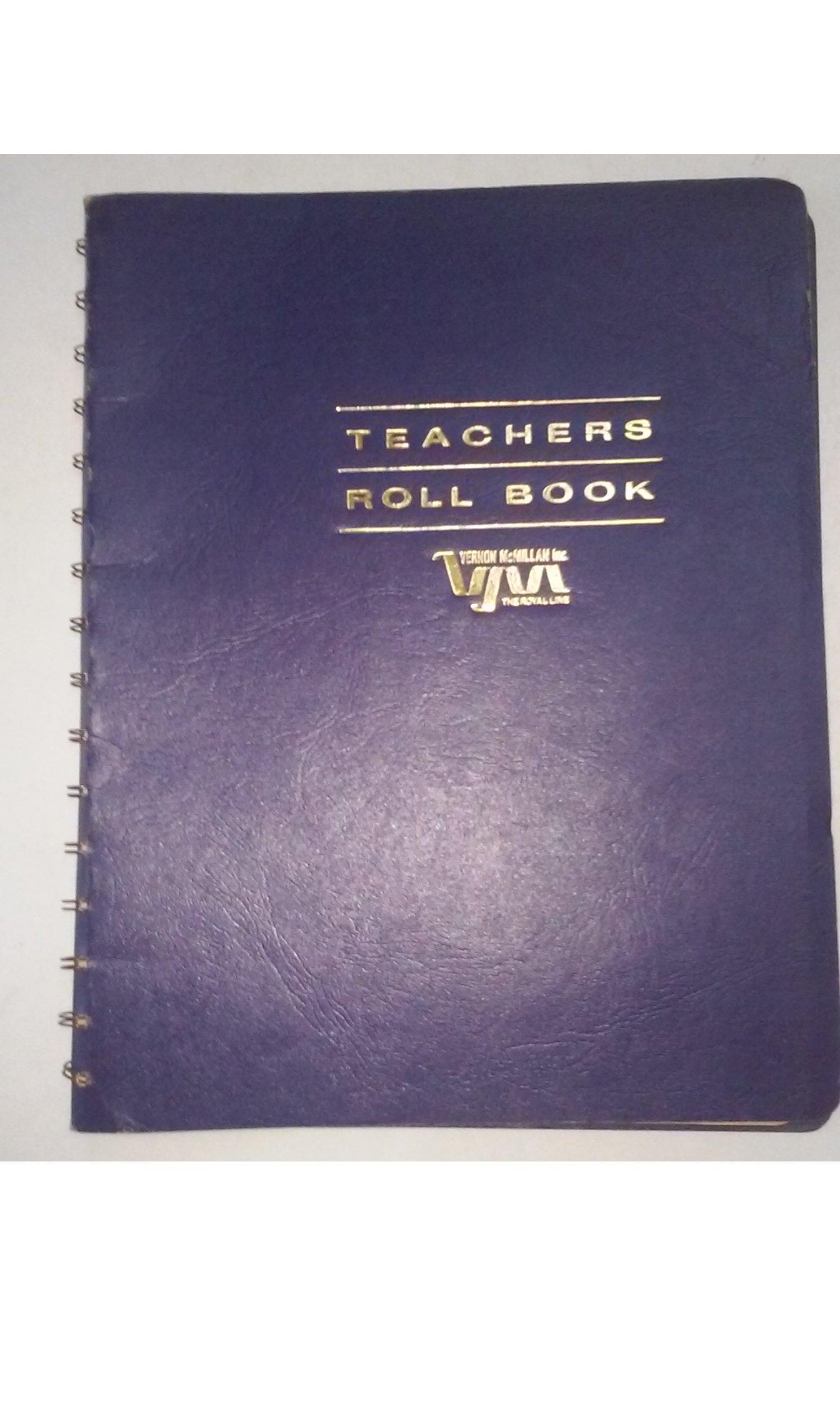 Vernon McMillan 50-1220 (120-02) Roll Book Made in USA