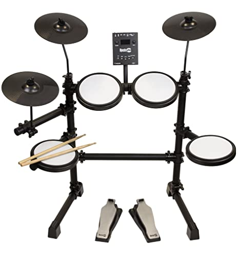 Amazon Com Rockjam Mesh Head Kit Eight Piece Electronic Drum Kit