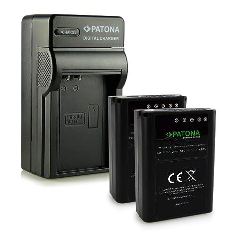 4en1 Cargador + 2x Premium Batería BLN-1 para Olympus OMD   E-M5   Stylus XZ-2   Pen E-P5   E-M1