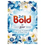 Bold 2-in-1 Lotus Flower and Lily Washing Powder, 2.6 kg, 40 Washes
