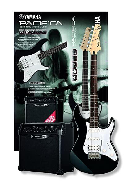 Yamaha GP Spider Pack II - Pack de guitarra y amplificador, color negro