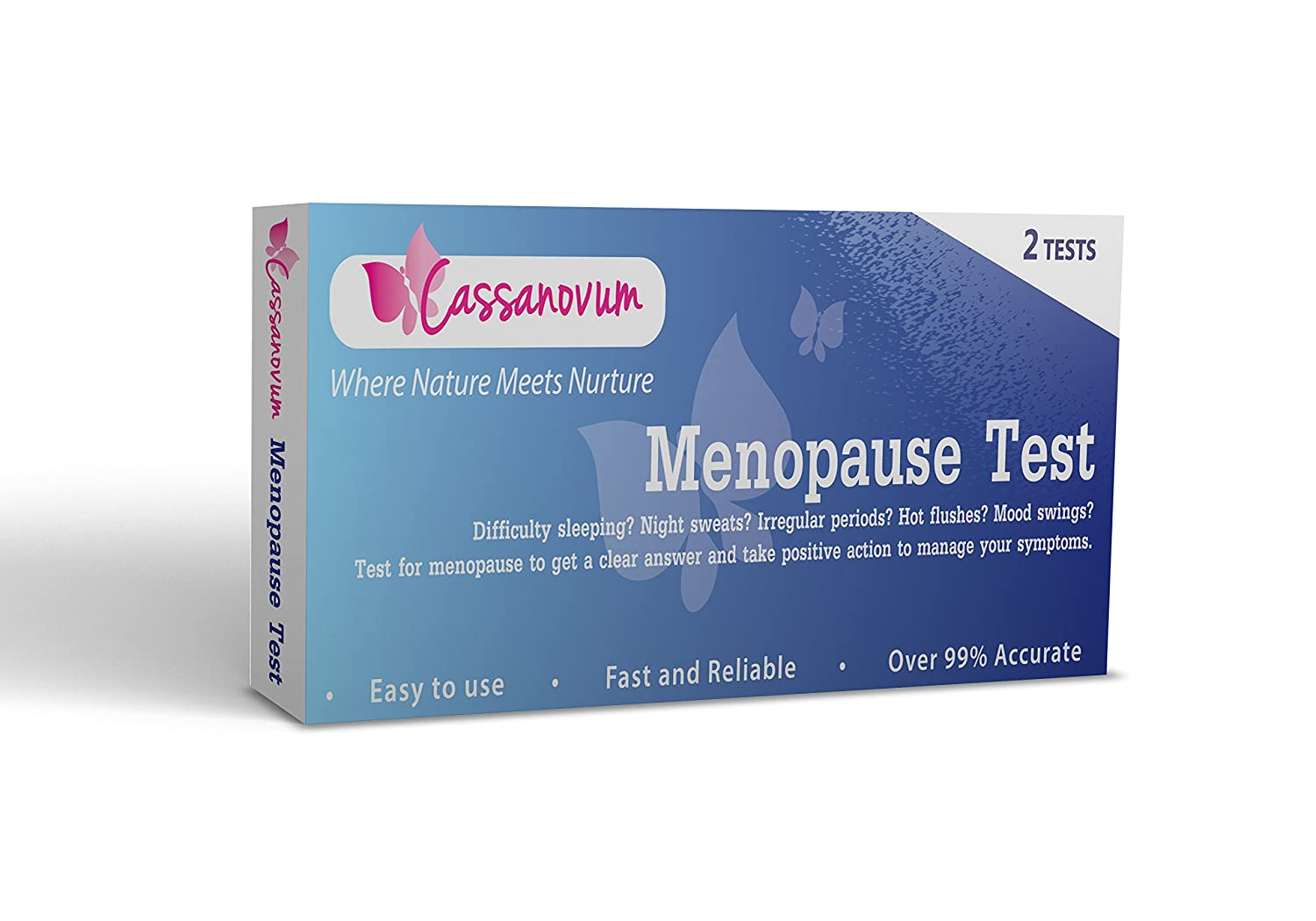 Menopause Test (Pack of 2 Tests) - Test and be sure!