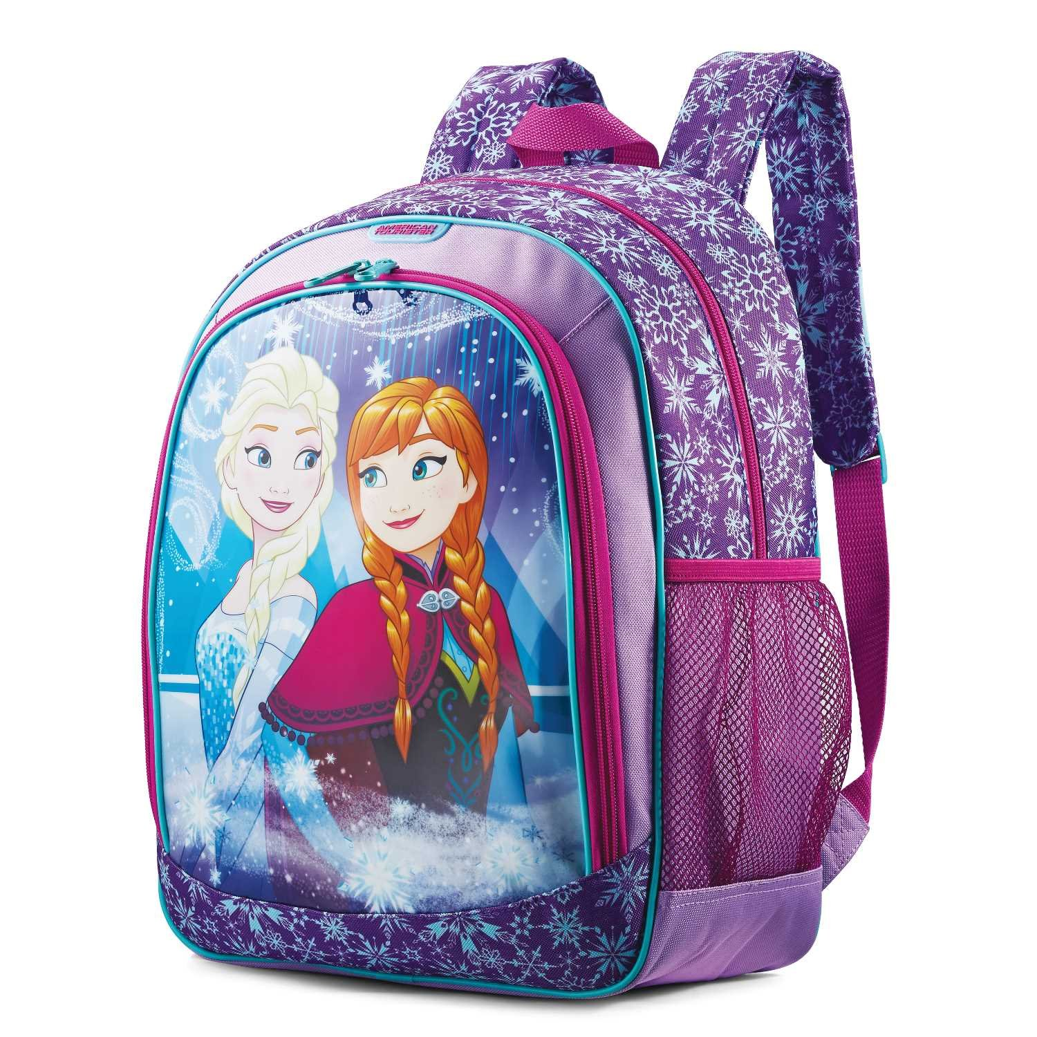3a163059a9a childrens Kids Disney Backpack Frozen Bag for Girls Travel School Elsa    Anna