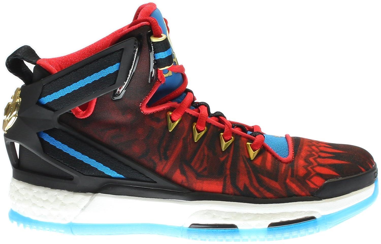 61fa524d765 Adidas Kids Boy s D Rose 6 Boost (Big Kid) Black Red Blue Sneaker 6.5 Big  Kid M  Amazon.ca  Shoes   Handbags