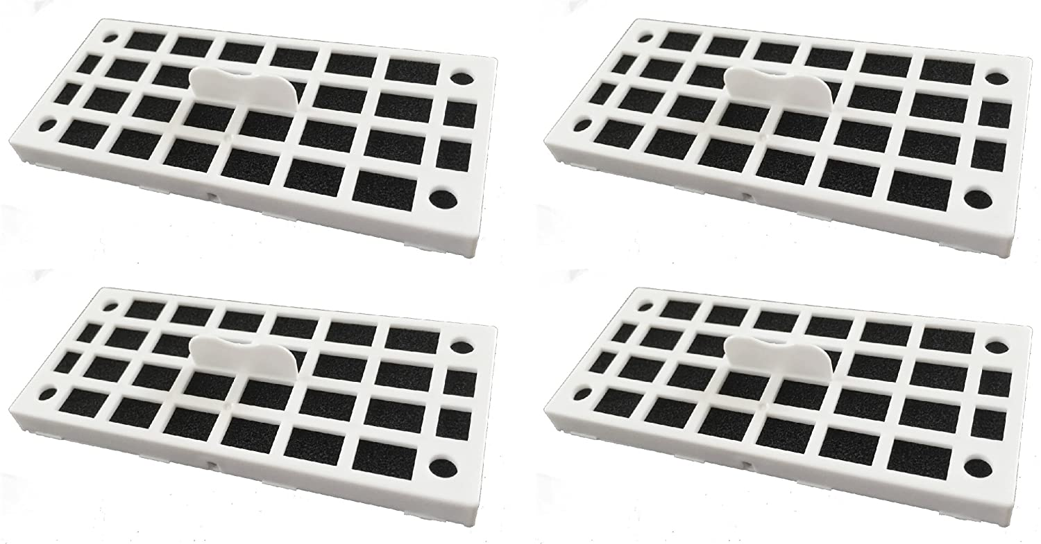 Replacement Air Deodorizer Filter Compatible GE Cafe Series Refrigerator ODORFILTER - 4 Filters