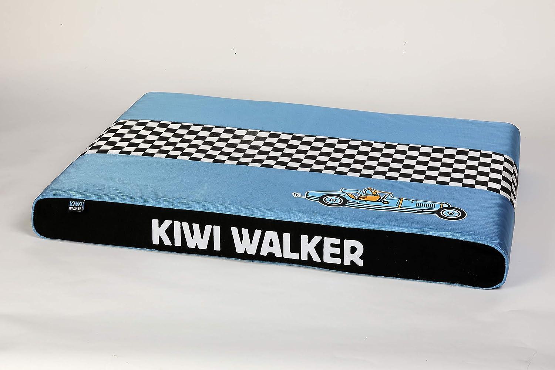 キウイウォーカー低反発マットレスレーシングブガXL(95x65x9cm) - ブルー/ブラック、XL