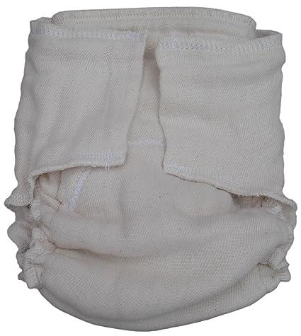 Little Bear Bums pre-fitted pañales de tela, tamaño 1