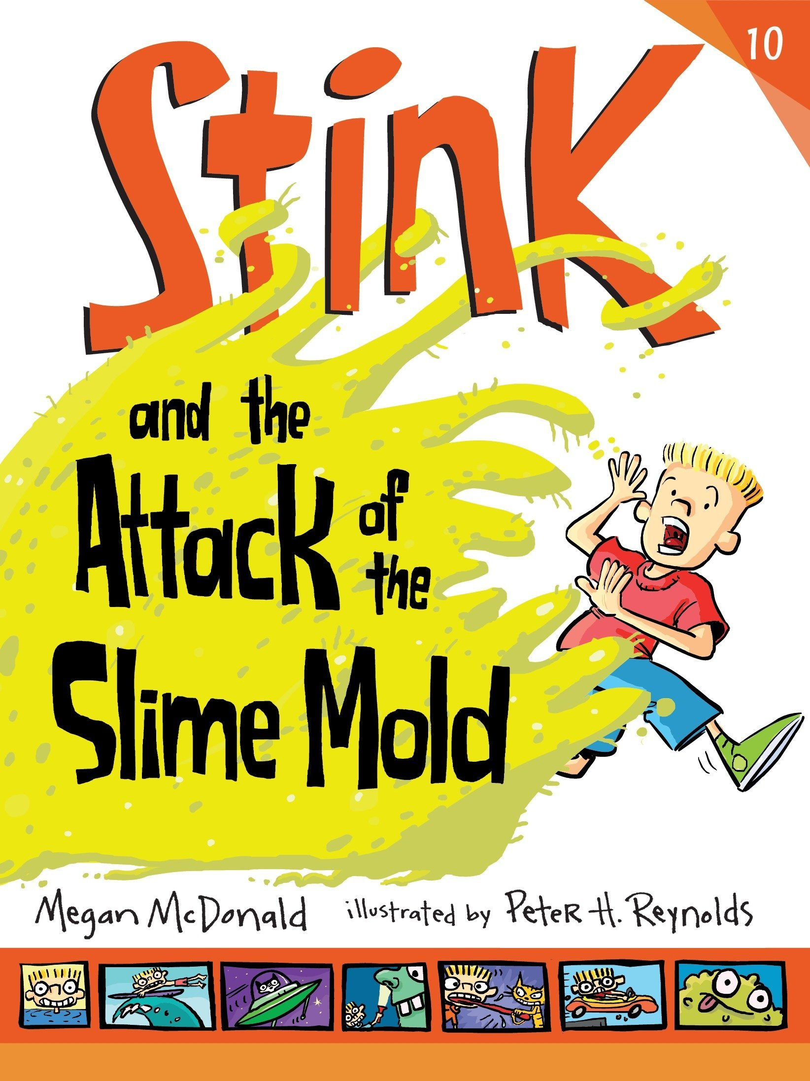 Read Online Stink and the Attack of the Slime Mold PDF