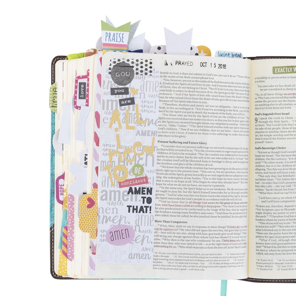 Stickers Praise Him Bella Blvd BB1247 Illustrated Faith