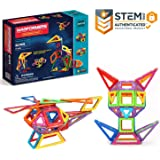 マグフォーマー 62ピース デザイナーセット MAGFORMERS マグネットブロック 創造力を育てる知育玩具 [並行輸入品]