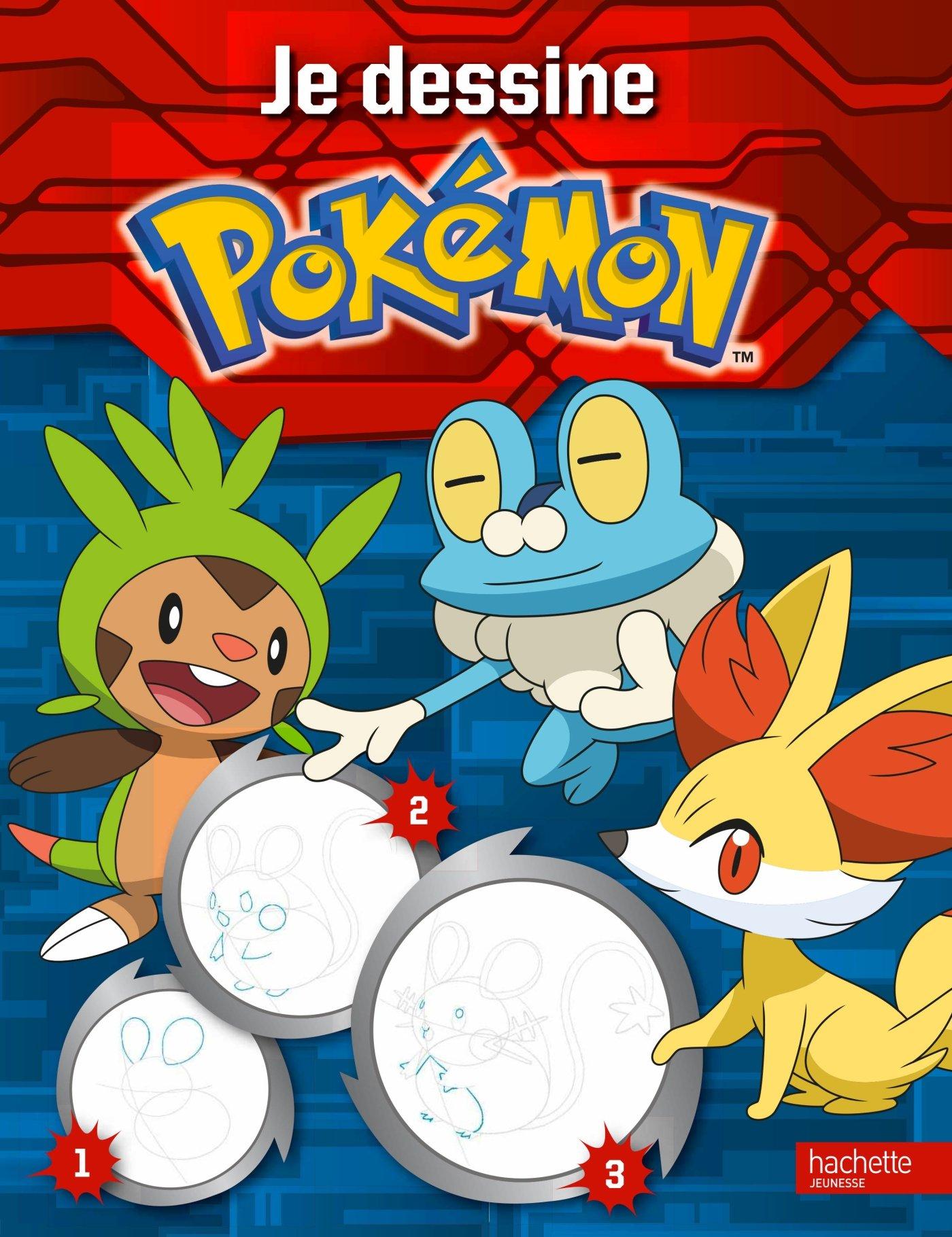 Pokémon Je Dessine Mes Pokémon Amazonfr Hachette