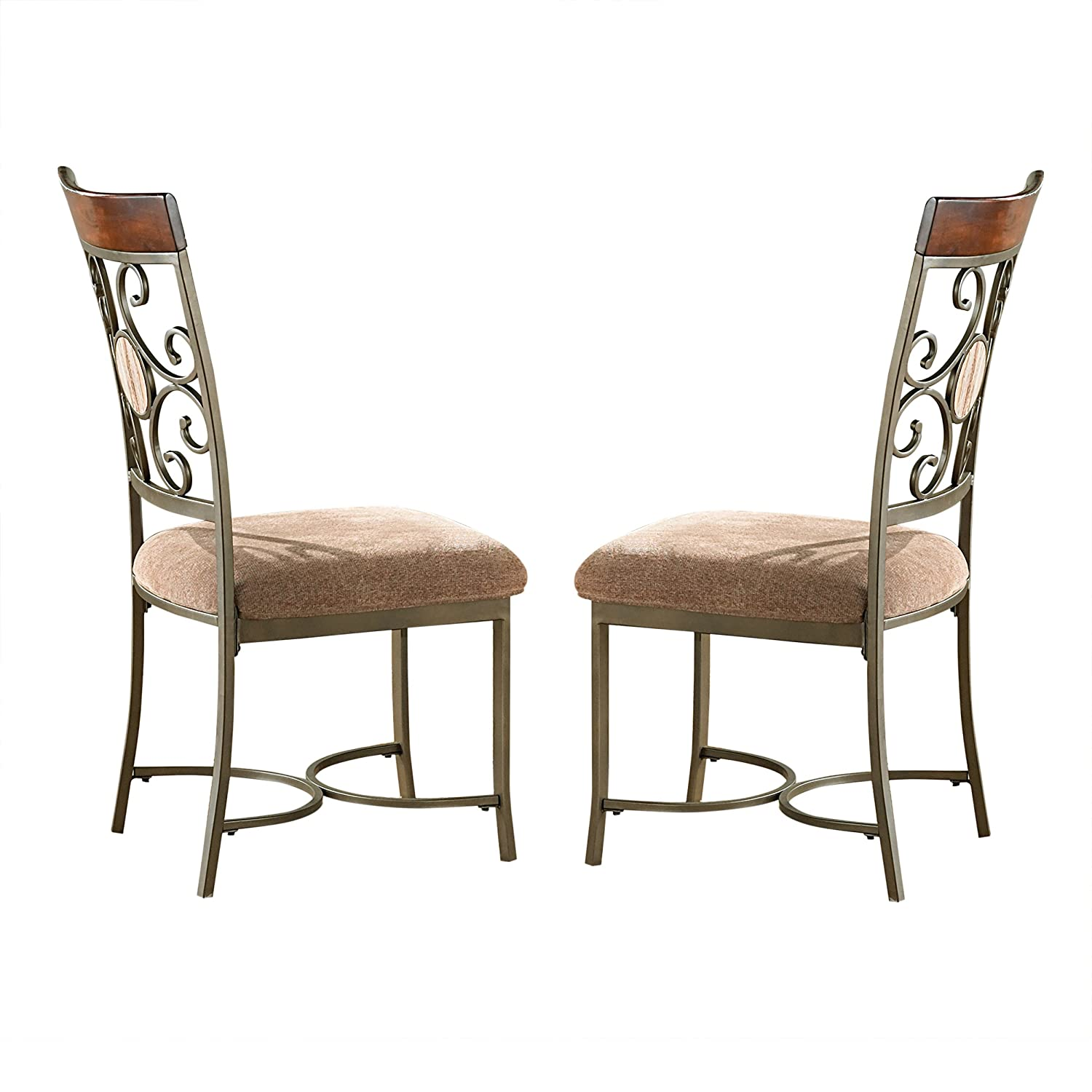 Steve Silver Company Thompson Side Chairs Set of 2 , 19 W x 23 D x 40 H