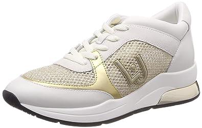 f496cd48906 Liu Jo Shoes Women's Karlie 12-Sneaker White Low-Top: Amazon.co.uk ...