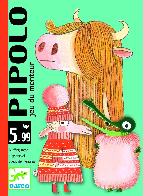 Djeco - Cartas pipolo: Amazon.es: Juguetes y juegos