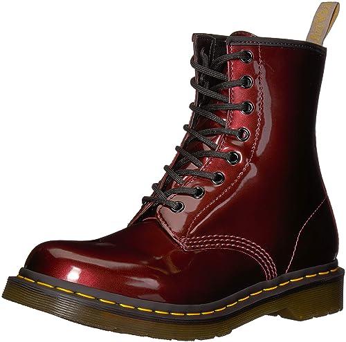 Dr. Martens 1460 W Vegan Chrome, Botines para Mujer: Amazon.es: Zapatos y complementos
