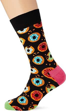 Happy Socks Donut Sock Calcetines, Multicolor (Multicolour 930), 7/10 (Talla del fabricante: 41-46) para Hombre