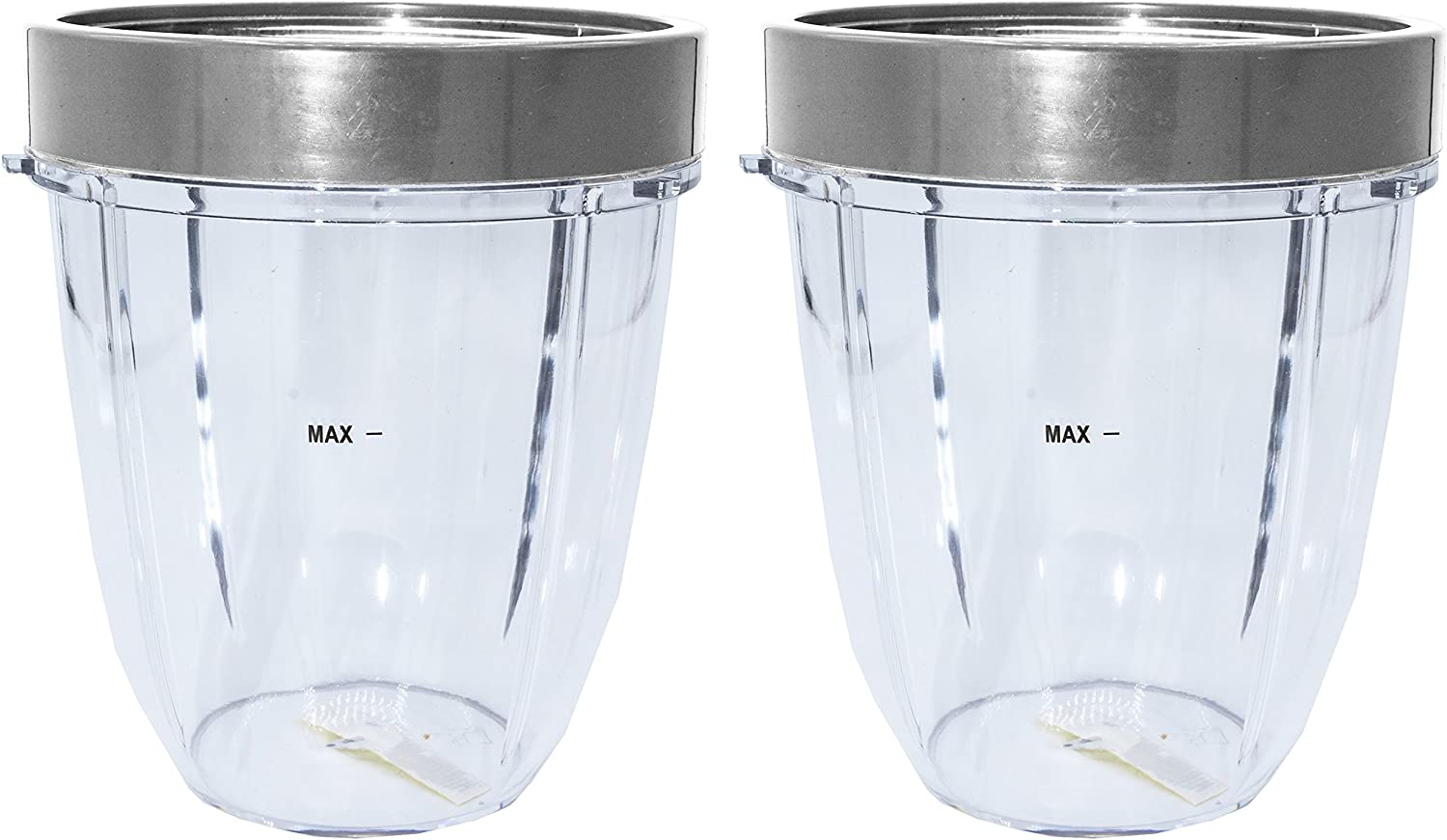 Blendin Replacement Parts, Compatible with Nutribullet 600W and 900W Blender Juicer (2 Short 2 Lip Rings)