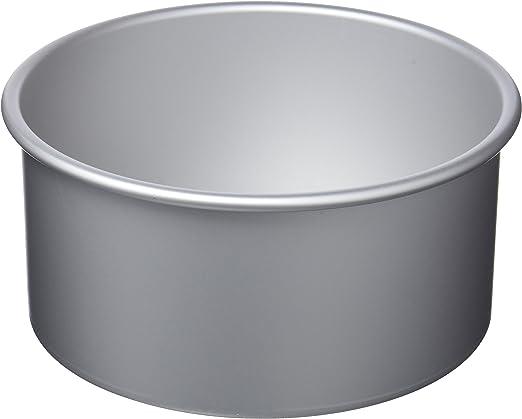 IBILI Kuchenform rund/extra hoch 20x10 cm, Aluminium, Silber, 20 x 10 cm