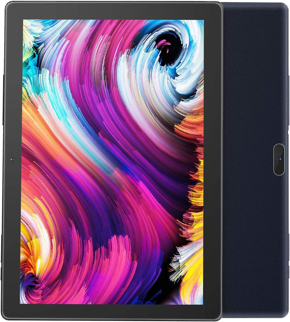 Android Tablet 10 inch,PRITOM M10, 2 GB RAM, 32 GB Android 9.0 Tablet,10.1 inch IPS HD Display,GPS,FM, Quad-Core Processor,Wi-Fi (M10 Black)