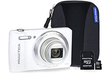 Praktica luxmedia z212 camera kit with 8 gb microsd: amazon.co.uk