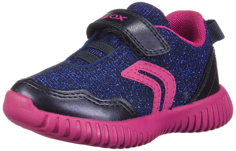 Geox B Waviness B, Sneakers Basses bébé Fille