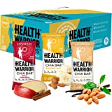 HEALTH WARRIOR Chia Bars, Morning Variety Pack, Gluten Free, 25g bars, 15 Count,Net.wt.13.2 oz