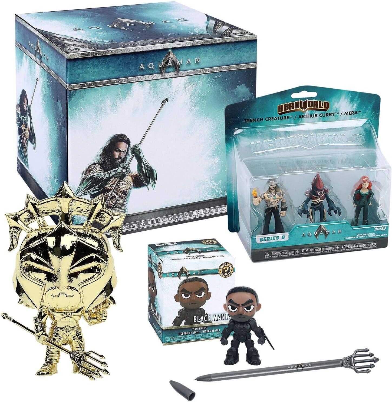 DC Aquaman Funko Collectors Box - 6 Pieces: Amazon.es: Juguetes y juegos