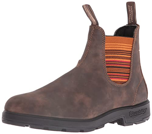 c50339888602 Blundstone Unisex 1348 Rustic Brown Stripes Boot  Amazon.ca  Shoes ...