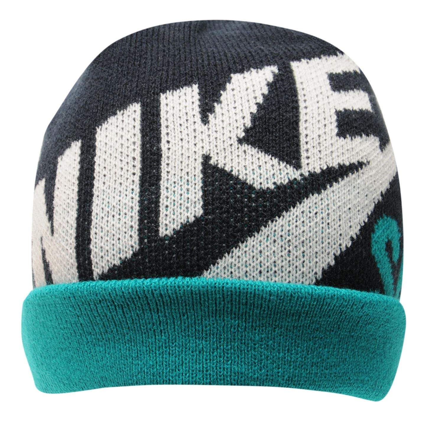 Nike SB Reversible Wrap Beanie-Sombrero Niños Verde Obsidian Green ...
