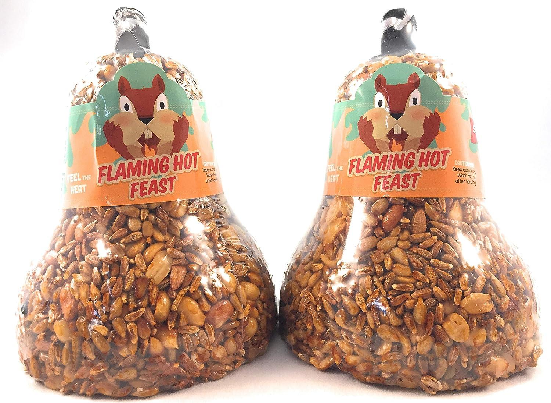 Bird Flaming Hot Feast Small Wild Bird Seed Cake 4 oz. Mr 6 or 12 Packs