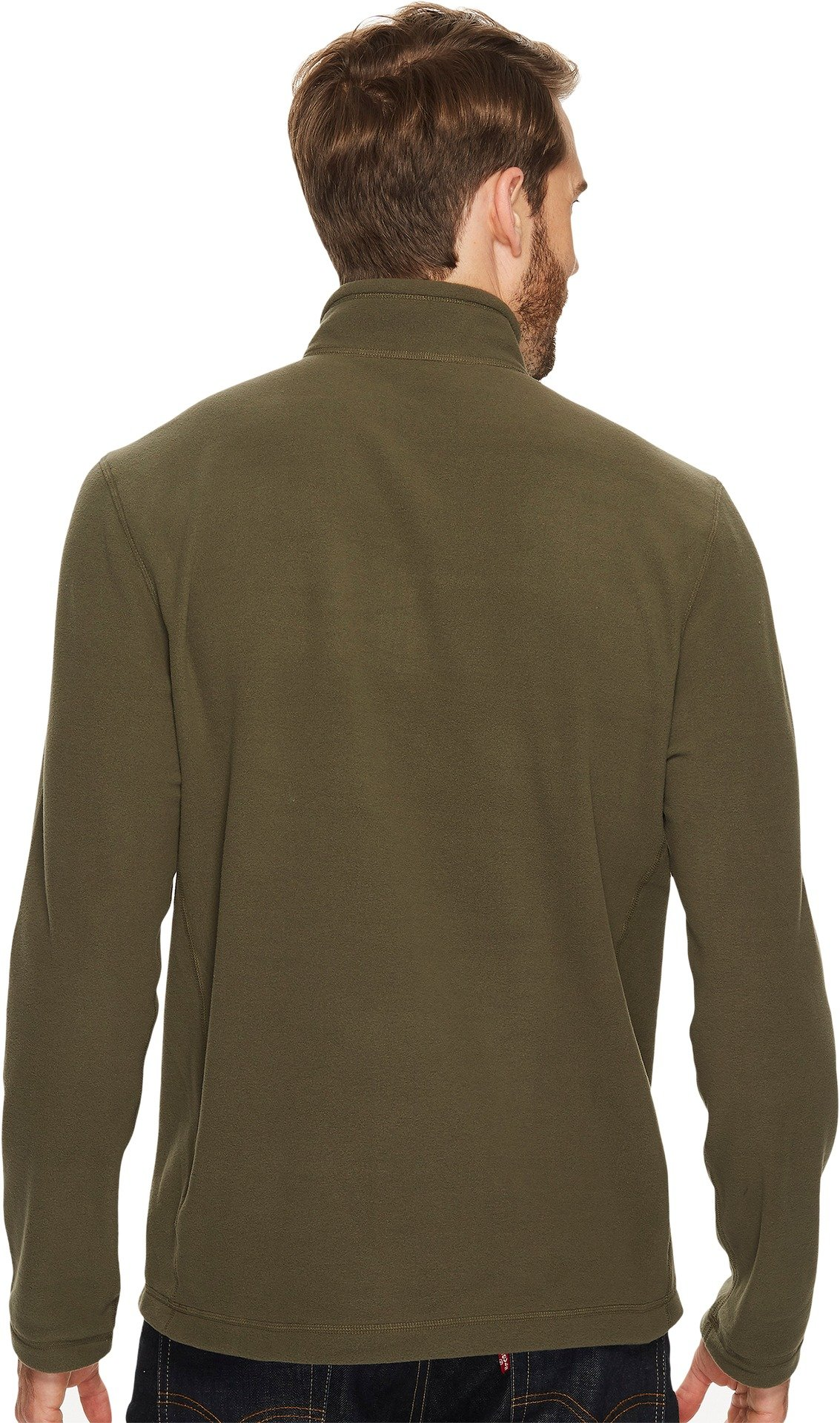 The North Face Men's TKA 100 Glacier 1/4 Zip - New Taupe Green/New Taupe Green - XL (Past Season)