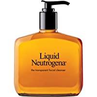 Liquid Neutrogena Fragrance-Free Gentle Facial Cleanser with Glycerin, Hypoallergenic & Oil-Free Mild Face Wash, 8 fl…