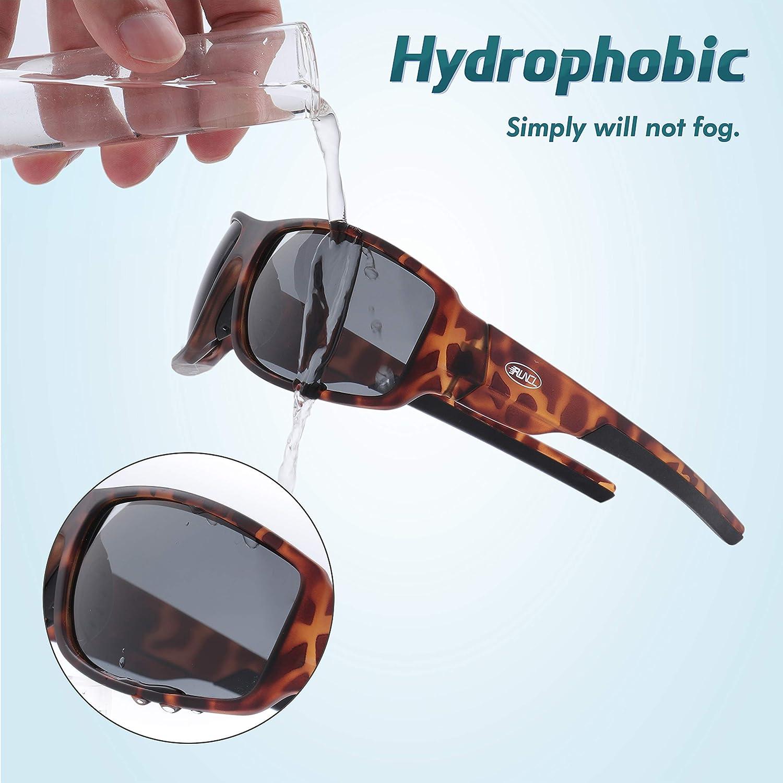 RUNCL Polarized Sunglasses Eye Protector Anti-Fog Floating Glasses