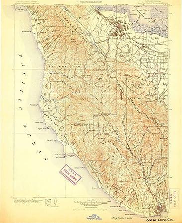 Amazon.com : YellowMaps Santa Cruz CA topo map, 1:125000 ... on barstow road map, san fernando road map, pleasant hill road map, florin road map, oakland road map, red rock canyon road map, manzini road map, las marias road map, occidental road map, seaside road map, simi valley road map, cupertino road map, white sands missile range road map, temecula road map, bloomington road map, napa county road map, sebastopol road map, oceanside road map, kapaa road map, vacaville road map,
