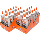 Elmer's Liquid School Glue, Clear, Washable, 9 Ounces, 24 Count - Great for Making Slime