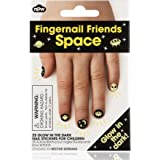 Fingernail Friends - Glow In The Dark - Space - Nail Stickers For Children